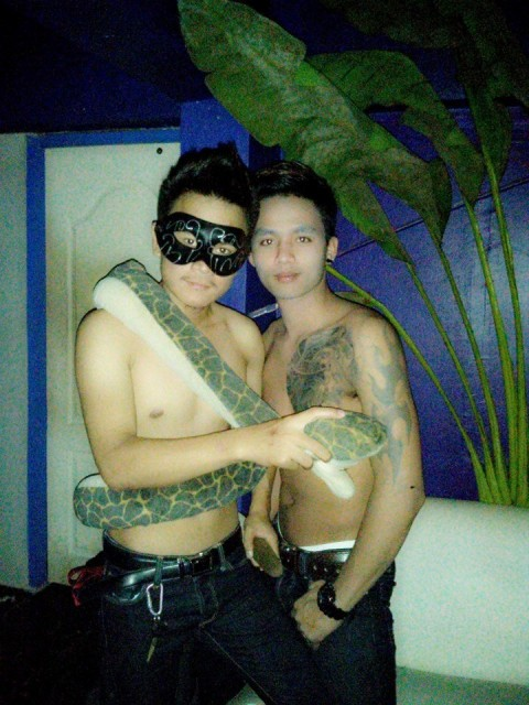 Tai Yai Boys with Python