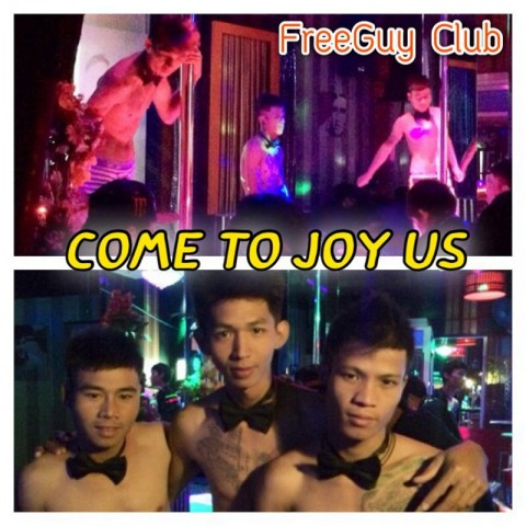 Party Time at Free Guy Club