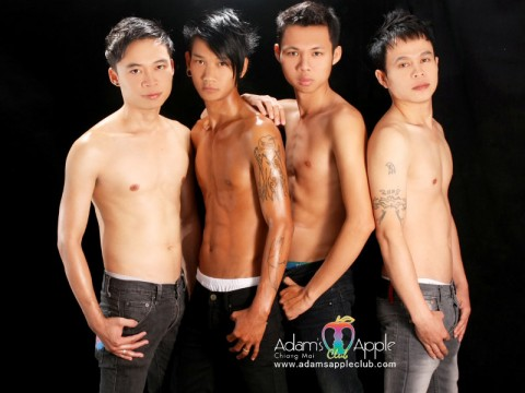 Lover Boys at Adam's Apple Club Chiang Mai