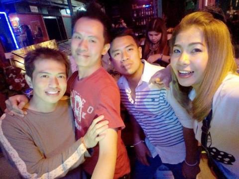 Fun at Ozeed Bar