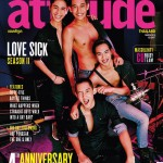 Gay Thailand Attitude magazine - front cover March 2015