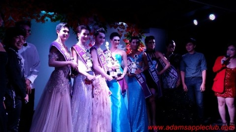 Ladyboy Contest in Chiang Mai