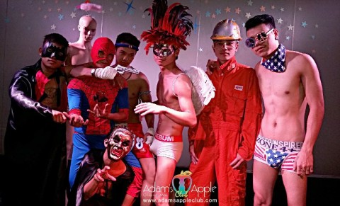 Show Boys at Adam's Apple Club