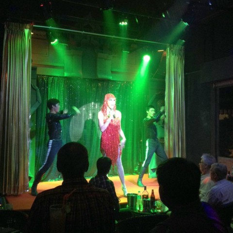 Cabaret show at the new Ram Bar