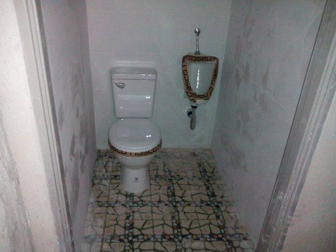 New clean toilet facilities at Secrets Bar Chiang Mai