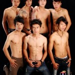 Some of the handsome Guys at Adam's Apple Club Chiang Mai