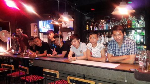 Some of the Bar Boys at G Bar Chiang Mai
