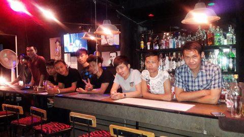 Some of the Bar Boys at G Bar Chiang Mai