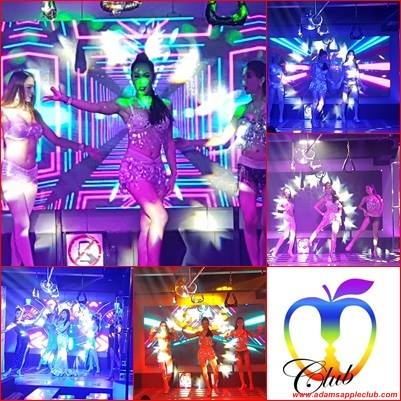 New stage and show at Adams Apple Club