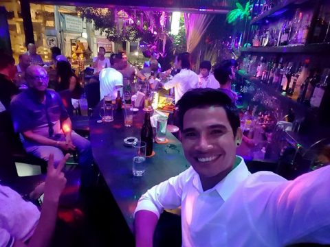 Ram bar chiang Mai - gay show bar - owner khun wat