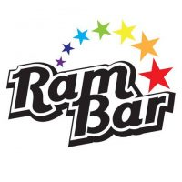 ram bar logo white