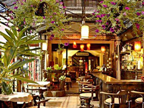 Soho bar in its heyday