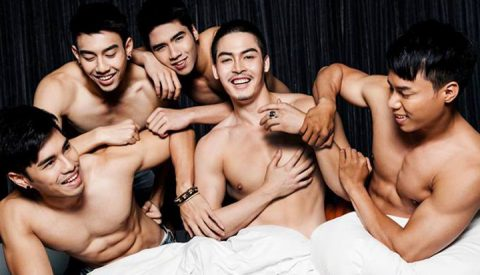 Chiang Mai Gay scene with fun loving guys