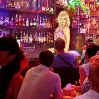 Busy night at Ram Bar - Chiang Mai's frendliest gay showbar