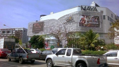 Chiang Mai Gay Scene - Modern trndy shopping malls and traffic jams