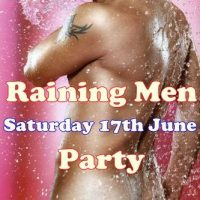 Erotic show at Adams Apple Gay Club - raining Men