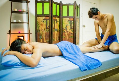 Cute GayThai massage boys at Common Massage Chiang Mai