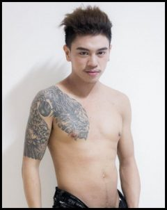 good looking massage boy in chiang mai