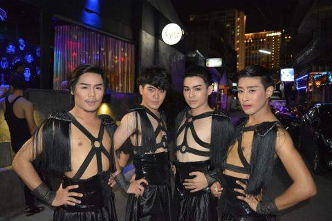 sexy gay show boys at Ram Bar Chiang Mai