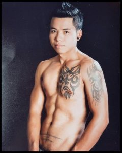 cute sexy massage guy at common gay massage in chiang mai