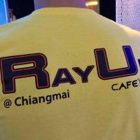 rayup chiang mai cafe bar staff shirt