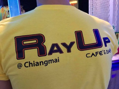 rayup chiang mai cafe bar staff shirt