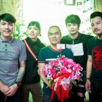 Khun Ray at RayUp opening party