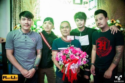 Khun Ray at RayUp opening party