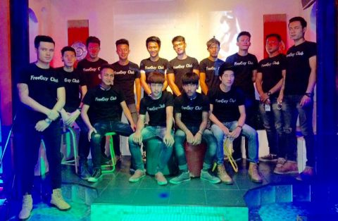 Free Guy Gay Club and Karaoke handsome host boys