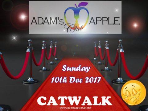 sexy gay catwalk party at Adams Apple Club Chiang Mai
