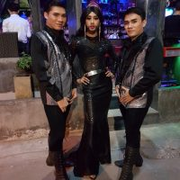 Ram Bar Show Chiang Mai - boys in black and silver