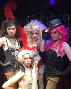 Ram Bar Show Chiang Mai - cast in costumes