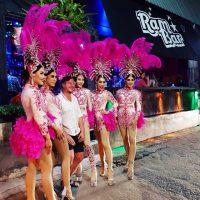 Ram Bar Show Chiang Mai - gay pink tutus