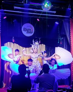 Ram bar show Chiangmai cabaret on stage