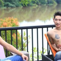 relax on the river at club one seven chiang mai gay sauna
