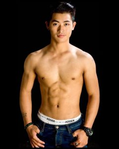 Male masseur at gay massage common massage in chiang mai