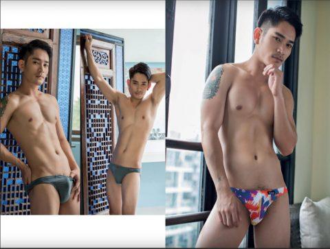 Good looking sexy models Thai Puan