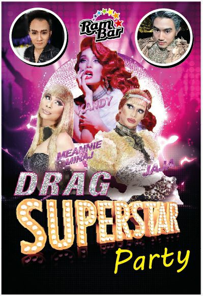 Superstar Drag party Ram Bar Chiang Mai