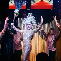 cabaret show at ram bar chaing mai - gay boys and sequins