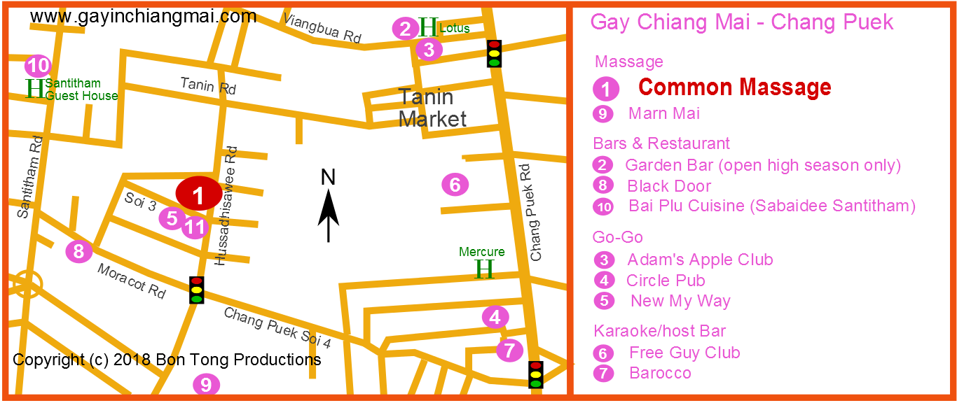 Latest LGBT news and events from the Chiang Mai gay scene with articles about gay bars