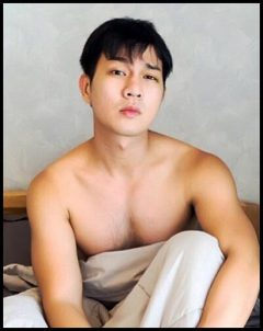 common massage boy sexy in bed
