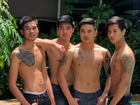 handsome sexy massage men at apollo chiang mai