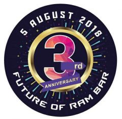 Ram Bar - CHiang Mai's friendliest gay bar - 3rd Anniversary party