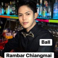 Ram Bar Chiang Mai - Staff Mr Ball