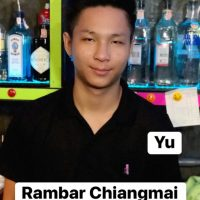 Ram Bar Chiang Mai - Staff Mr Yu
