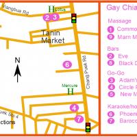 Chiang Mai Gay Map - Chang Puek December 2018