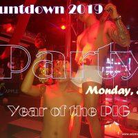 countdown 2019 at adams apple club