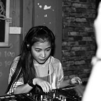 black door chiang mai dj night
