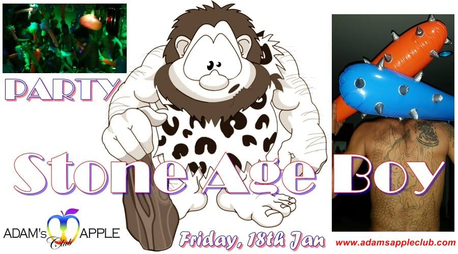 Stone AGe Boy party at Adam's Apple Club Chiang Mai - Poster