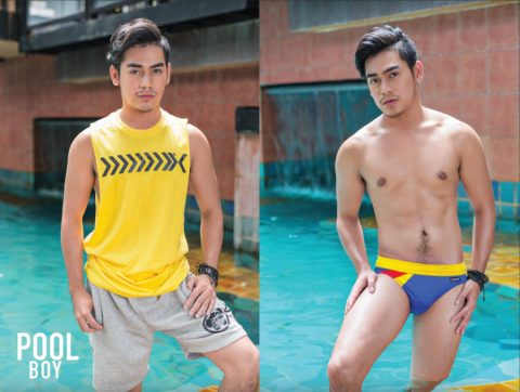 handsome pool boy thailand gay magazine Thai Puan